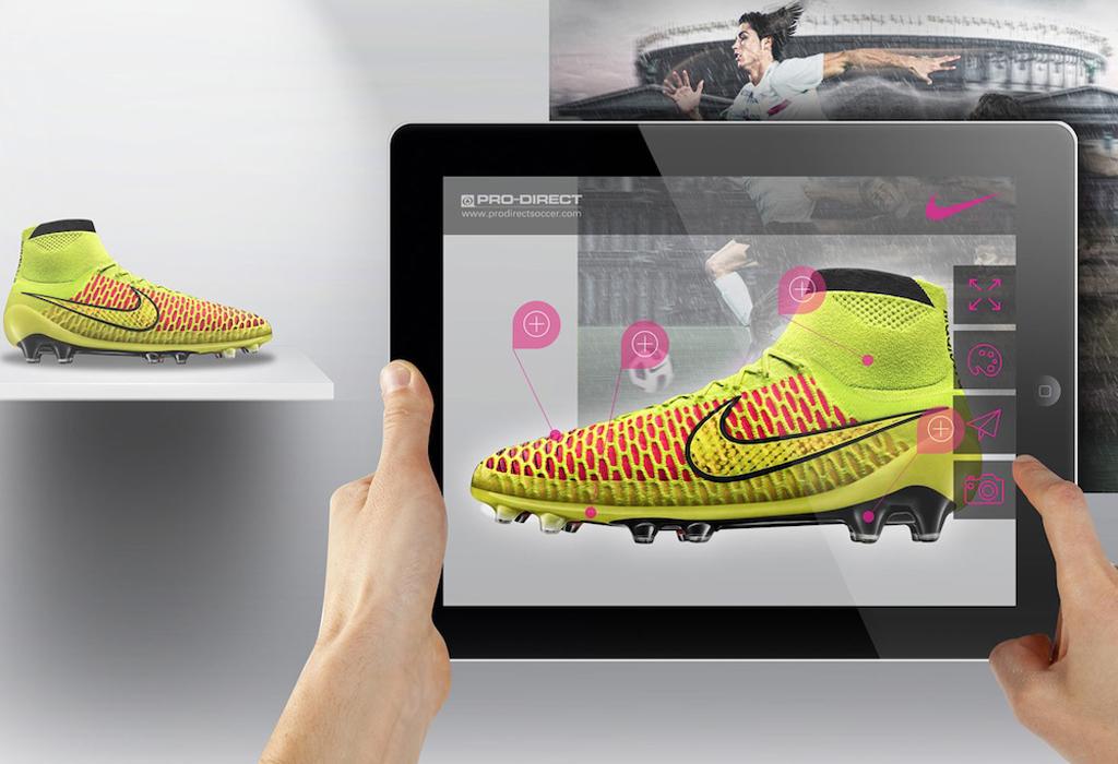 Nike дополненная реальность
