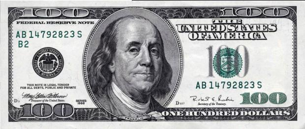 Как выглядит доллар США