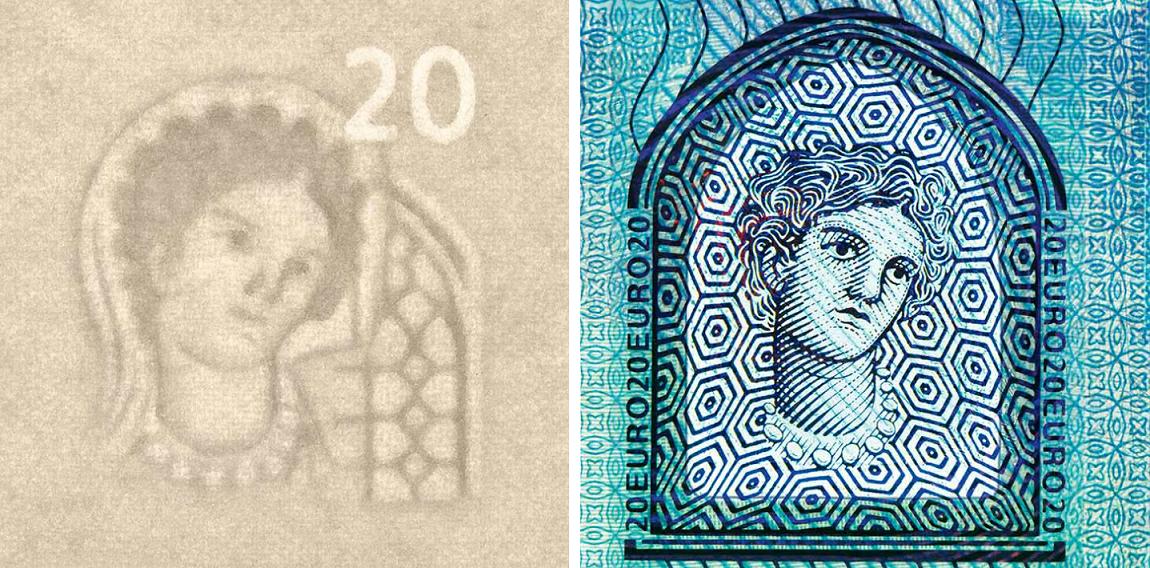 купюри євро