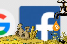 Биткоин обогнал Facebook и Google на 800% по доходности
