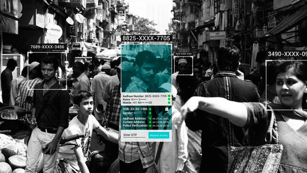 Биометрическая база данных в Индии