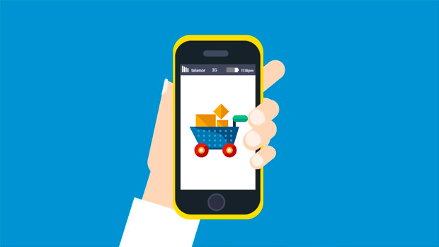 Мобильные устройства онлайн-торговля