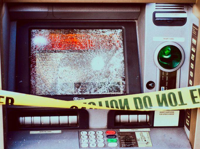 Как грабят банкоматы