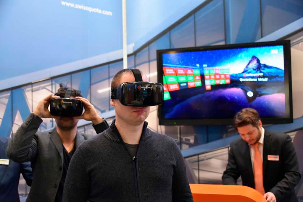 Торговля на бирже в виртуальной реальности
