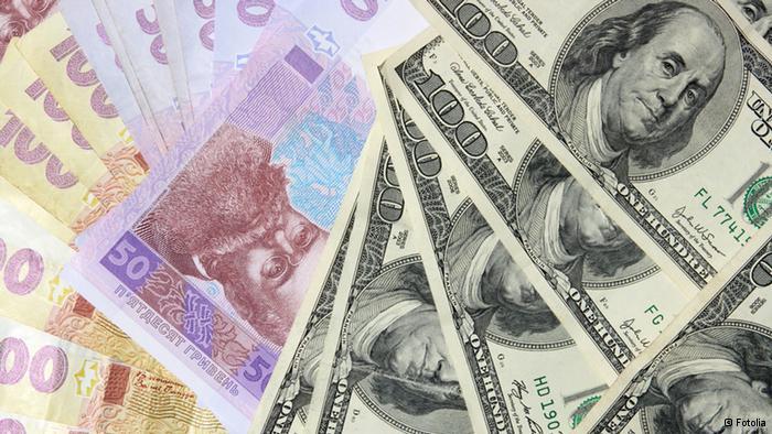 Транш МВФ курс гривны блокада