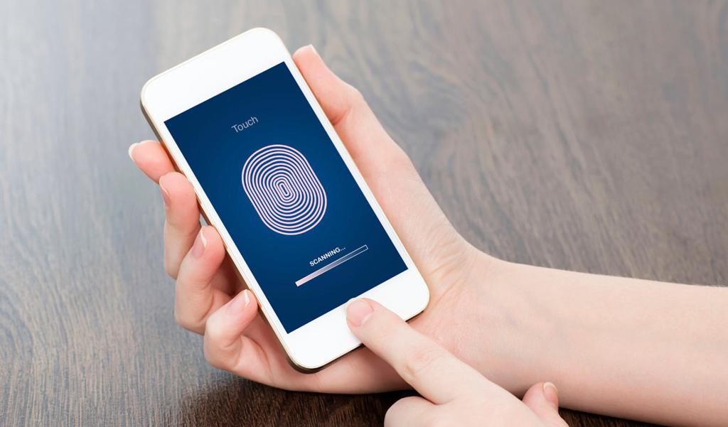 Apple сканер отпечатка пальца