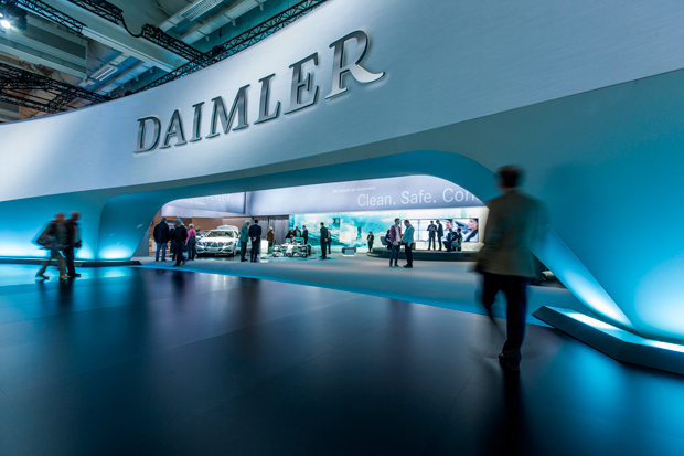 Daimler Uber беспилотные машины