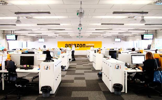 Amazon call-центры