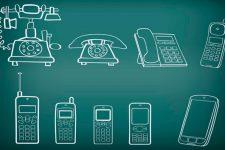 История телефона: от первых звонков до мобильных платежей (инфографика)