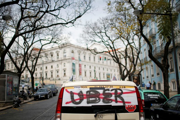 Uber уходит из Дании