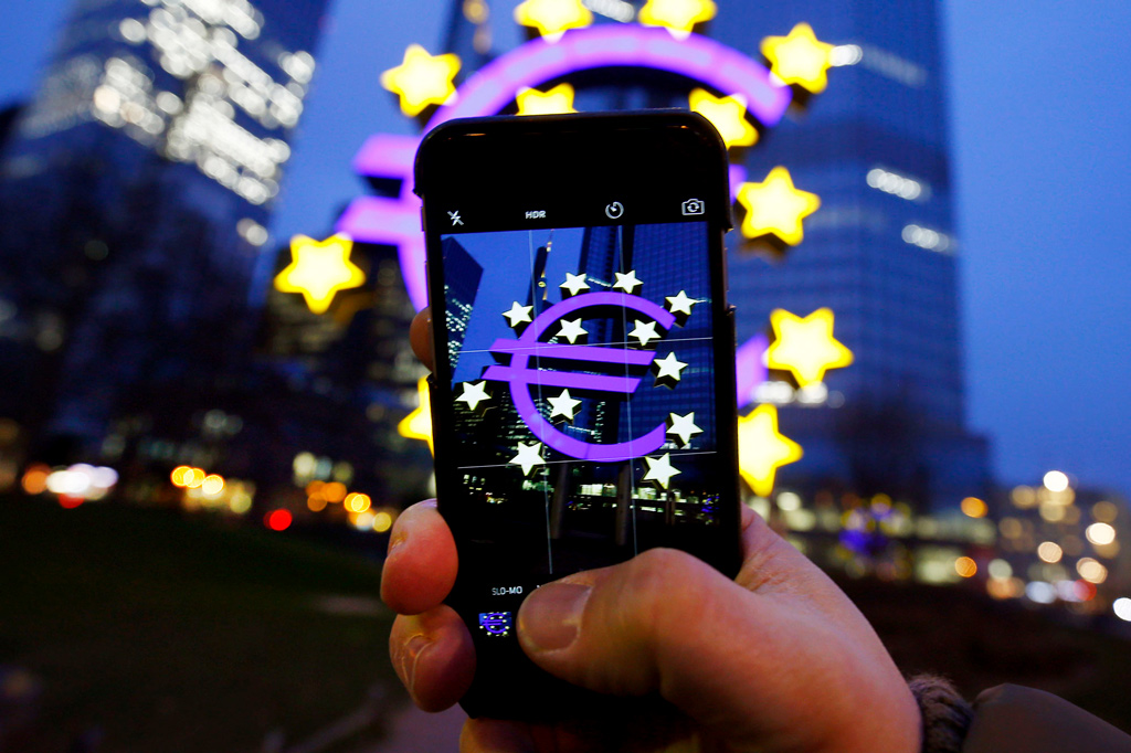 ЕЦБ технология блокчейн