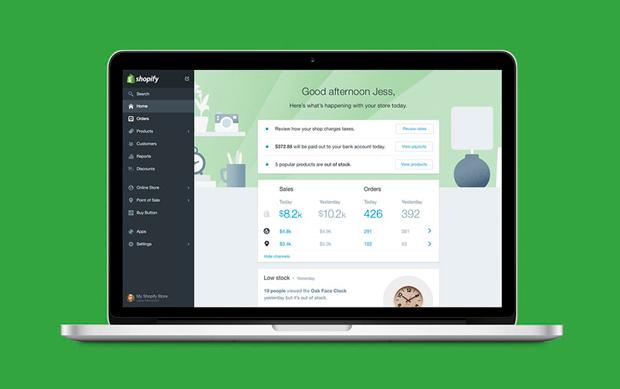 Shopify Pay онлайн-платежи
