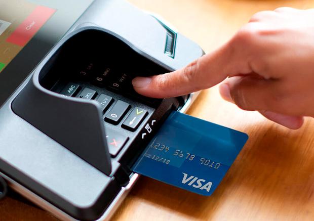 Чиповые карты Visa в США