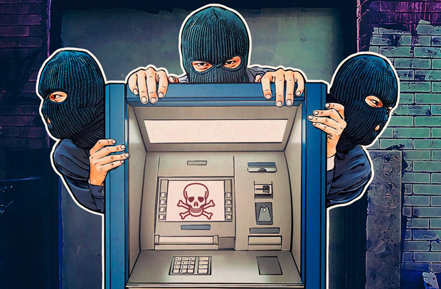 взломать банкомат