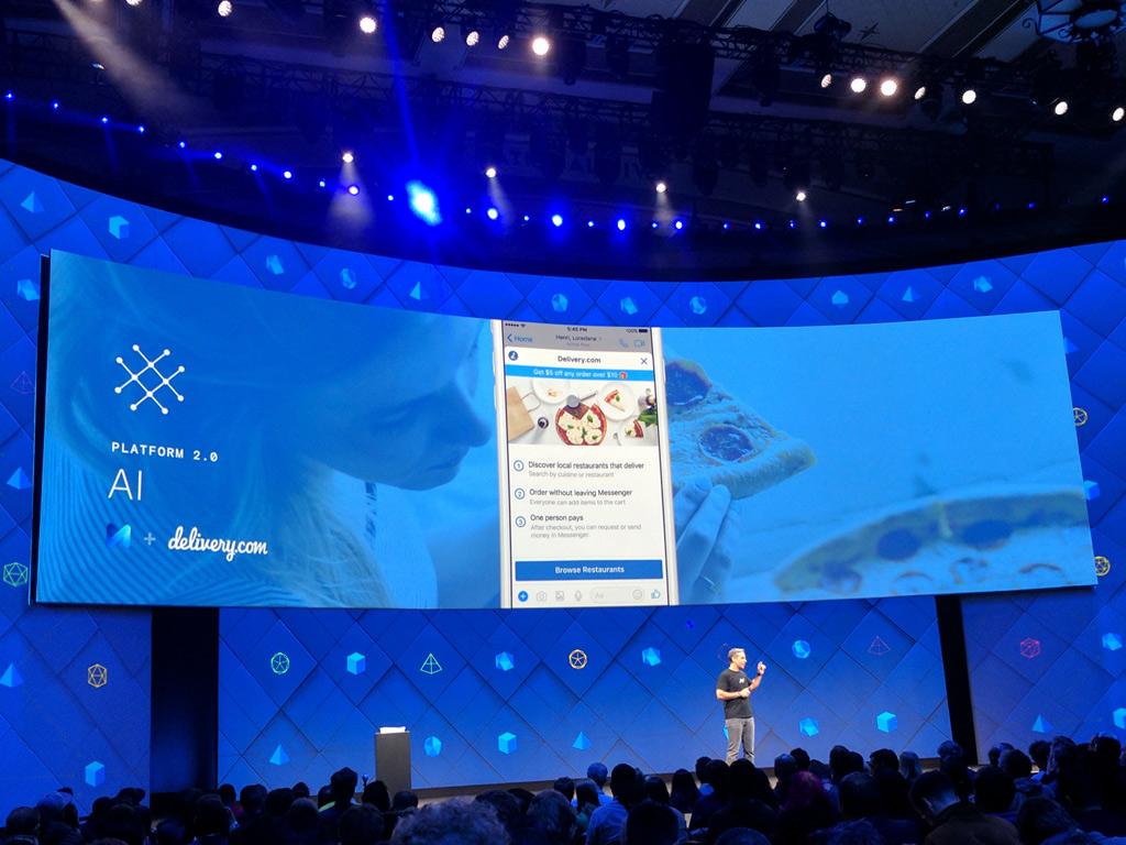 Новые функции Facebook Messenger