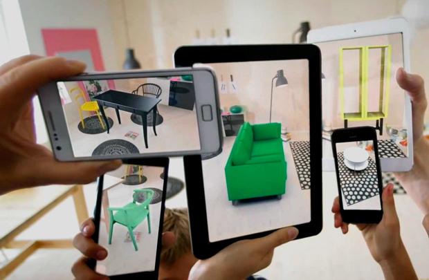 IKEA виртуальная реальность
