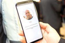 Распознавание лиц в Samsung Galaxy S8 — ненадежный пароль