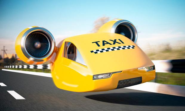 Uber летающее такси