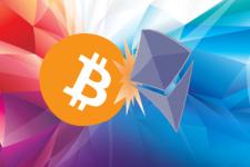 Ethereum впервые обошел Bitcoin по объемам торгов