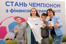 Visa представила украинскую версию интерактивной игры «Финансовый футбол»