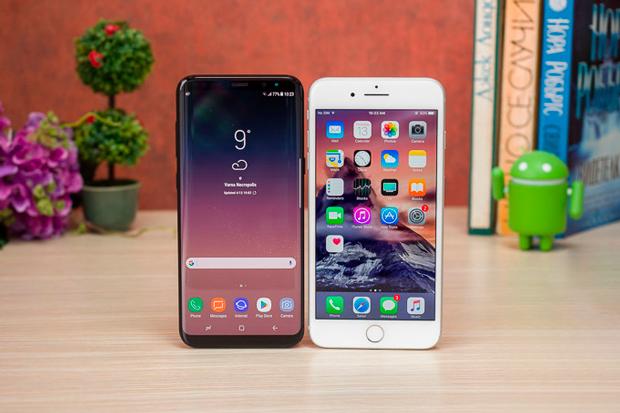 Смартфоны Apple и Samsung