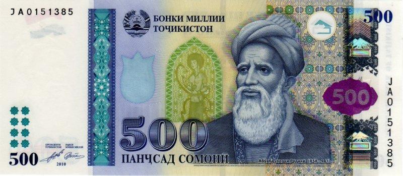 рубль на таджикский сомони сегодня сколько возможен