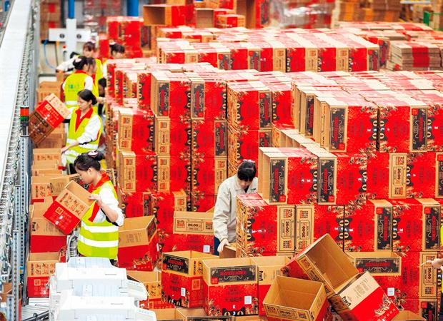 Электронная коммерция Китай