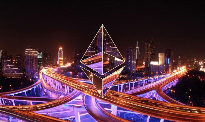 Цена криптовалюты Ethereum