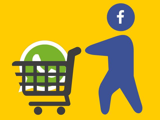 ЕС оштрафовал Facebook за сделку с WhatsApp
