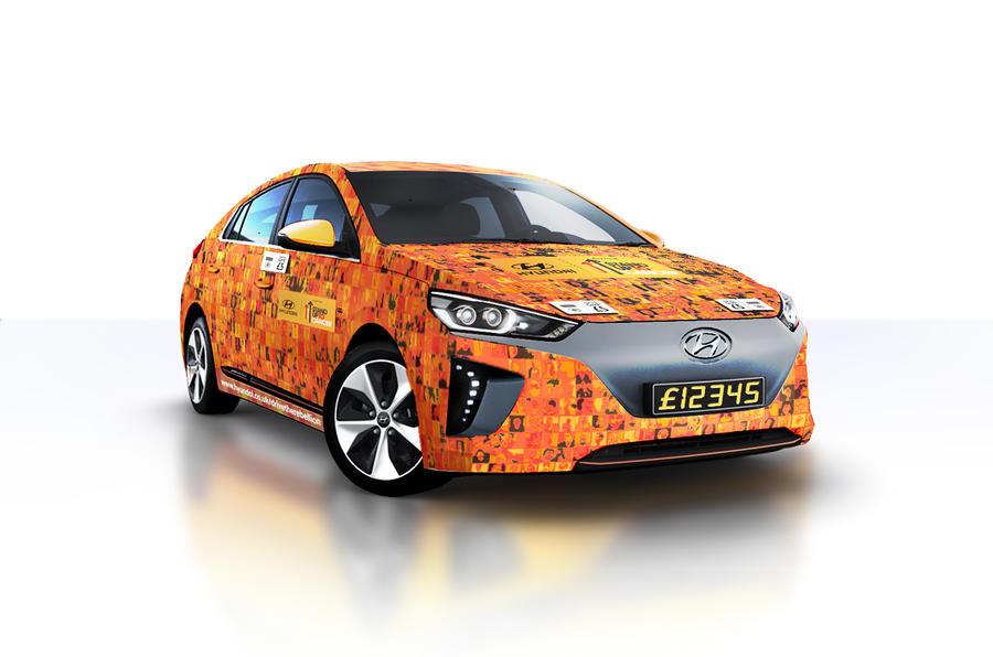 Бесконтактный автомобиль Hyundai