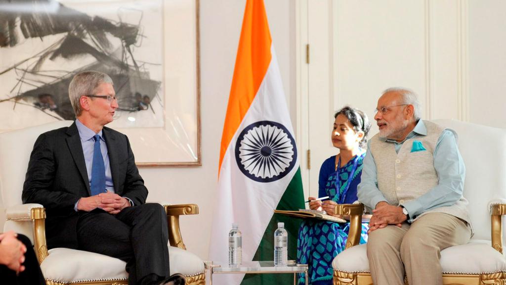 Apple собирает iPhone в Индии