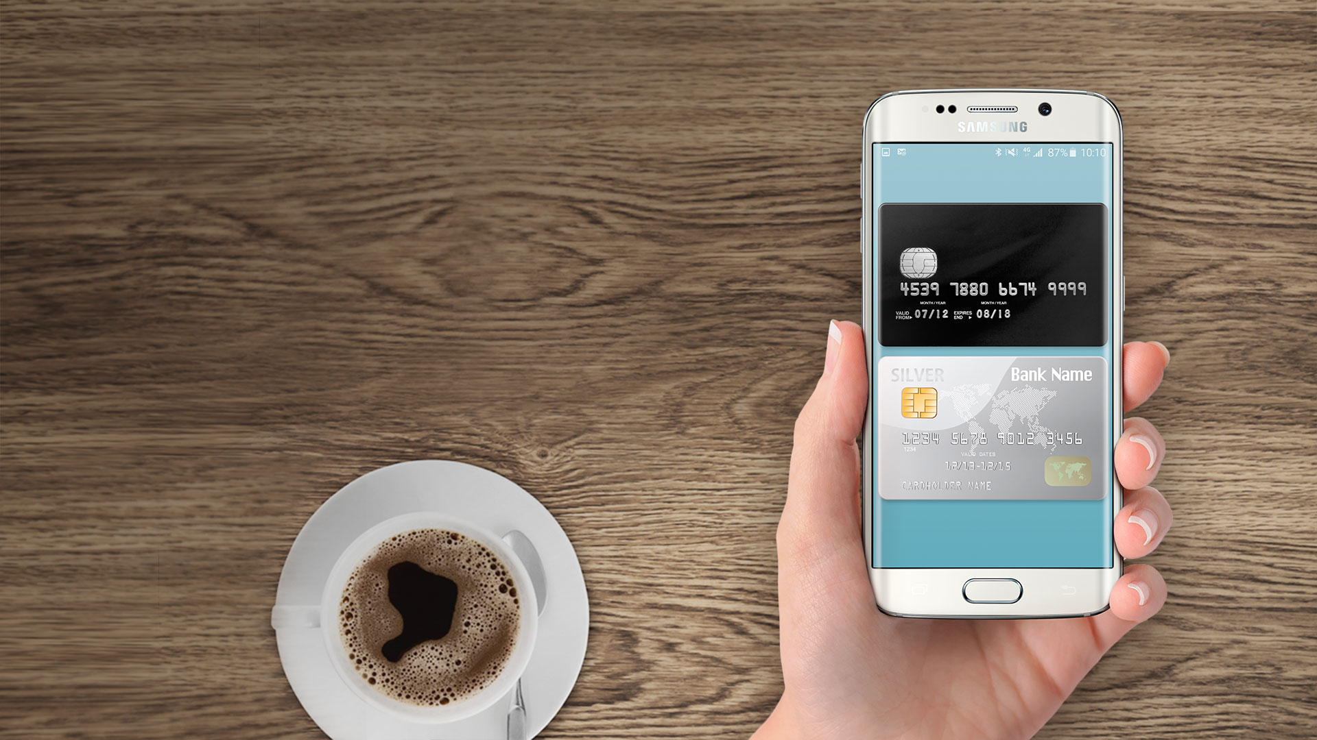 Мобильный платежный сервис Samsung Pay