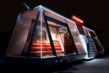 В Китае открыли магазин на колесах без касс и продавцов