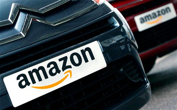 Amazon автомобили в Европе