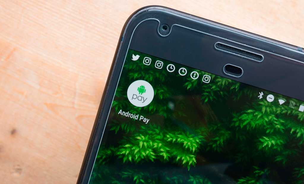 Android Pay в Тайване