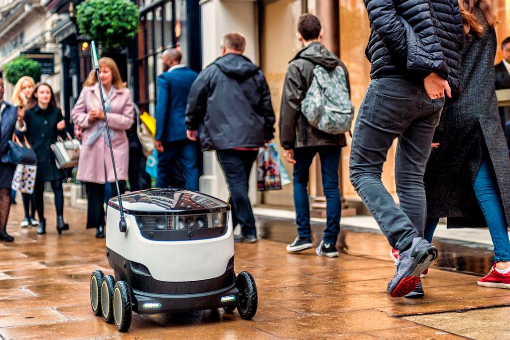 Роботы-курьеры в Эстонии