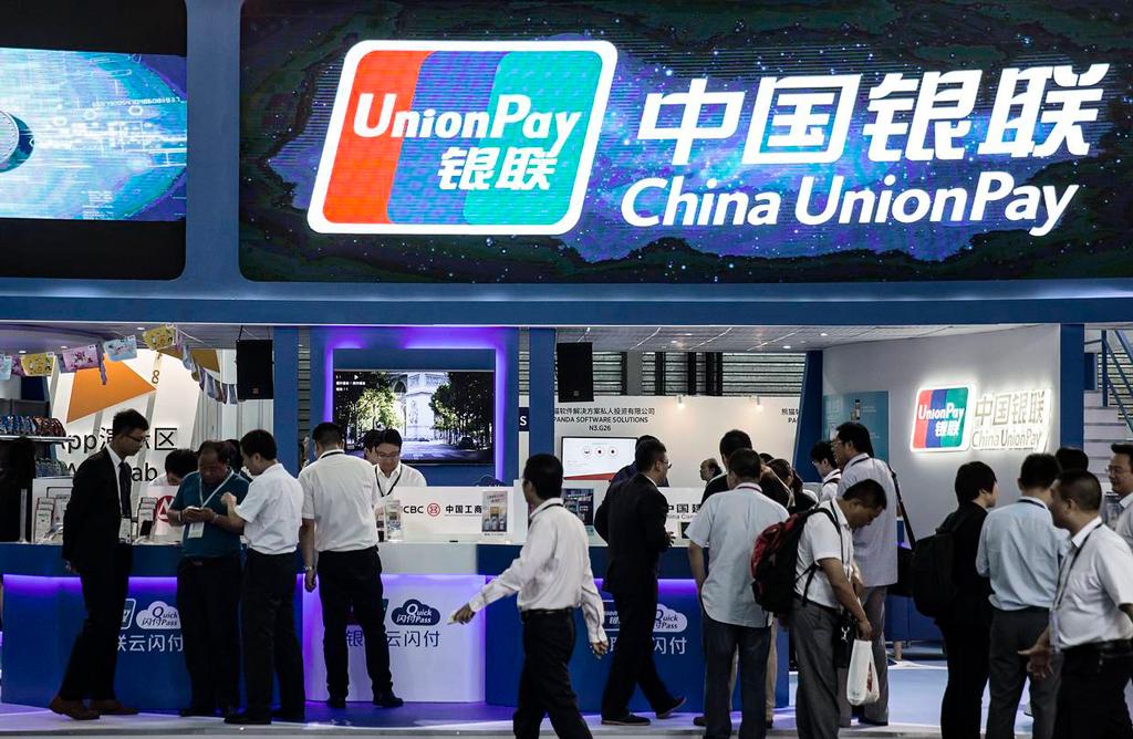 UnionPay платежи по QR-кодам
