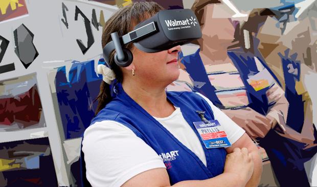 Виртуальная реальность Walmart