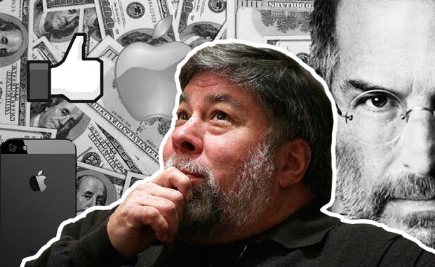 7 важных мыслей Стива Возняка: про Apple, Джобса, деньги и счастье (видео)