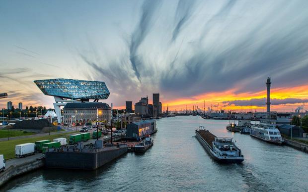 Порт Антверпена блокчейн