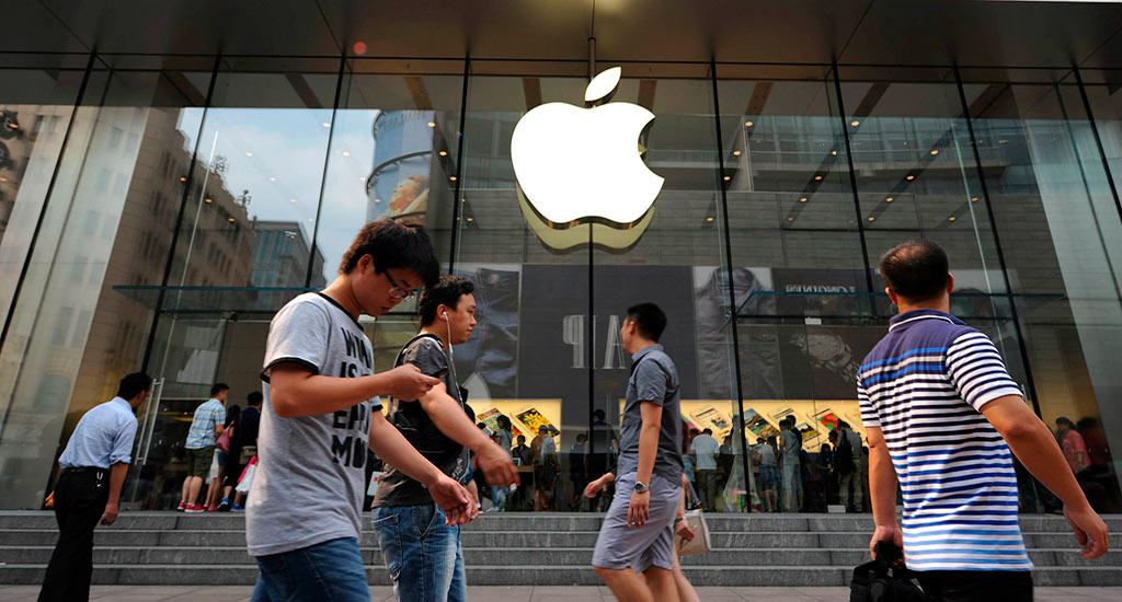 Смартфоны Apple в Китае