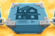 Реестр прав на недвижимое имущество перейдет на блокчейн