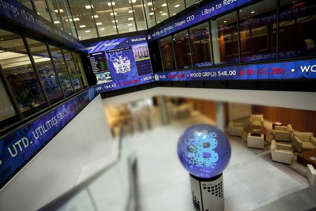 Блокчейн Фондовая биржа Лондона
