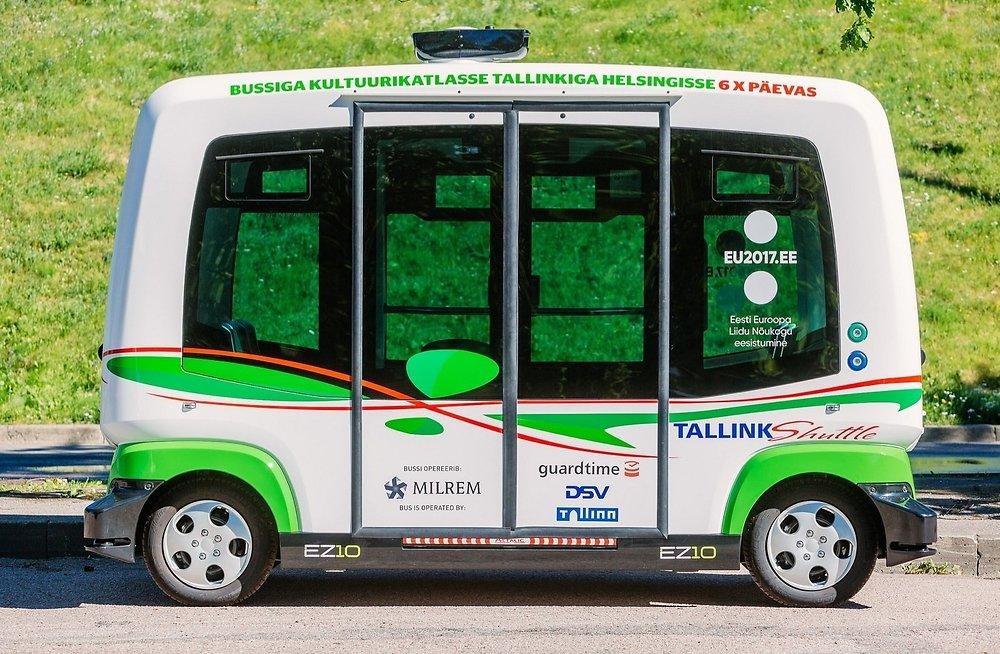 Беспилотные автобусы в Таллине