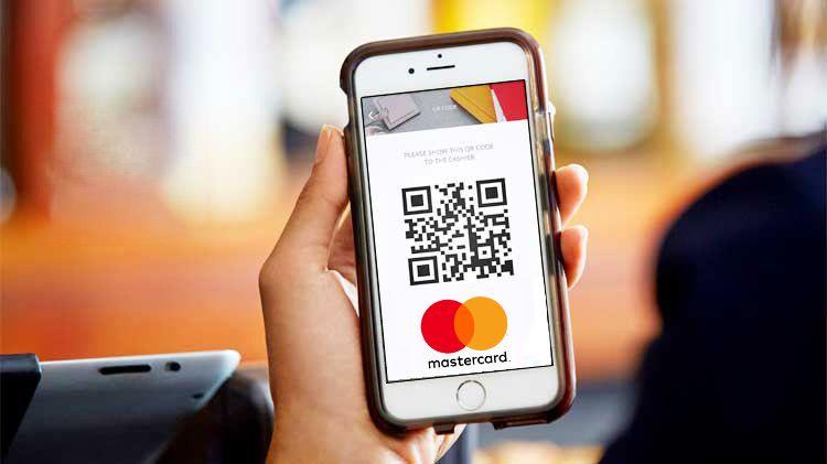 Mastercard QR-код