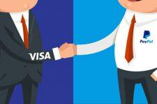 Теперь и в Европе: Visa и PayPal расширяют партнерство
