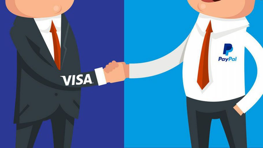 Visa и PayPal в Европе