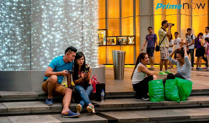 Amazon в Сингапуре