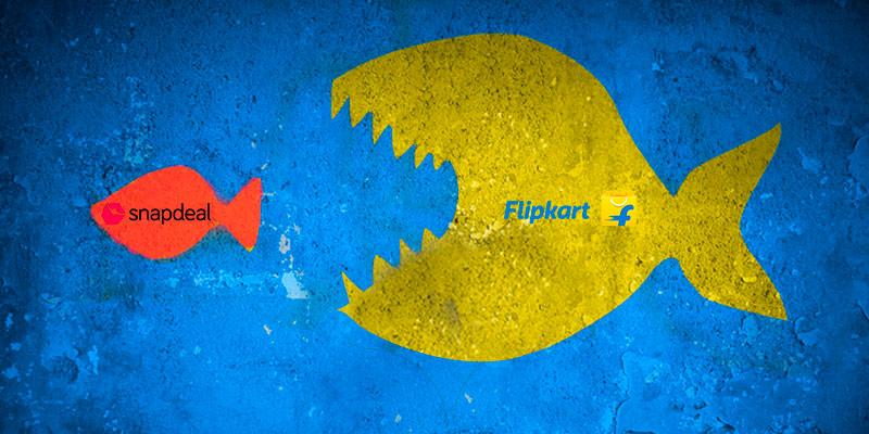 Крупная сделка в e-commerce: Flipkart выкупает своего конкурента Snapdeal