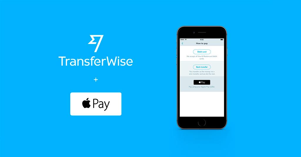 Соглашение Apple Pay и TransferWise
